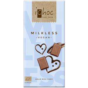 iChoc(アイチョコ)オーガニックライスミルクチョコレート プレーン(ミルクレス)