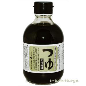 そら豆醤油で作った つゆ(三倍濃縮)
