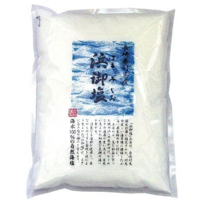 天然塩のパッケージ