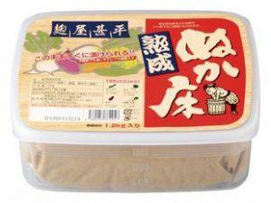 麹屋甚平(こうじやじんべい) 熟成ぬか床(容器付)